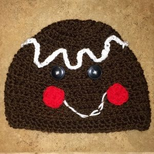 Other - Crocheted gingerbread hat
